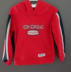 CCM red hoodie